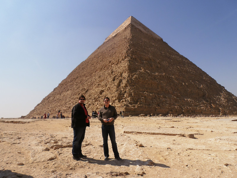 The Pyramid of Kafhre, Johann and Robert