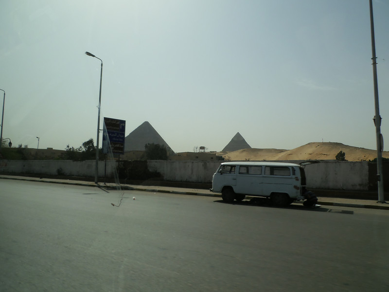 Giza, Pyramids view