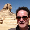 The Great Sphinx of Giza with Robert