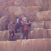 The Great Pyramid of Khufu,  Frederic and Johann back from inside dicovering
