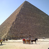 The Great Pyramid of Khufu and Tour Guide Mohammed