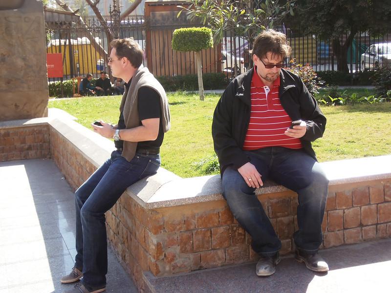 Robert and Johann