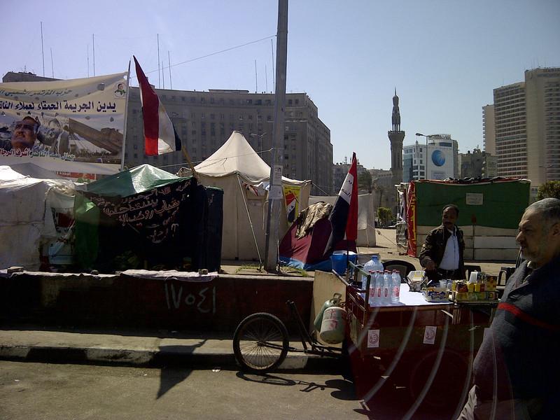 Tahrir Square, Revolution ongoing