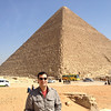 The Great Pyramid of Khufu with Fredric
