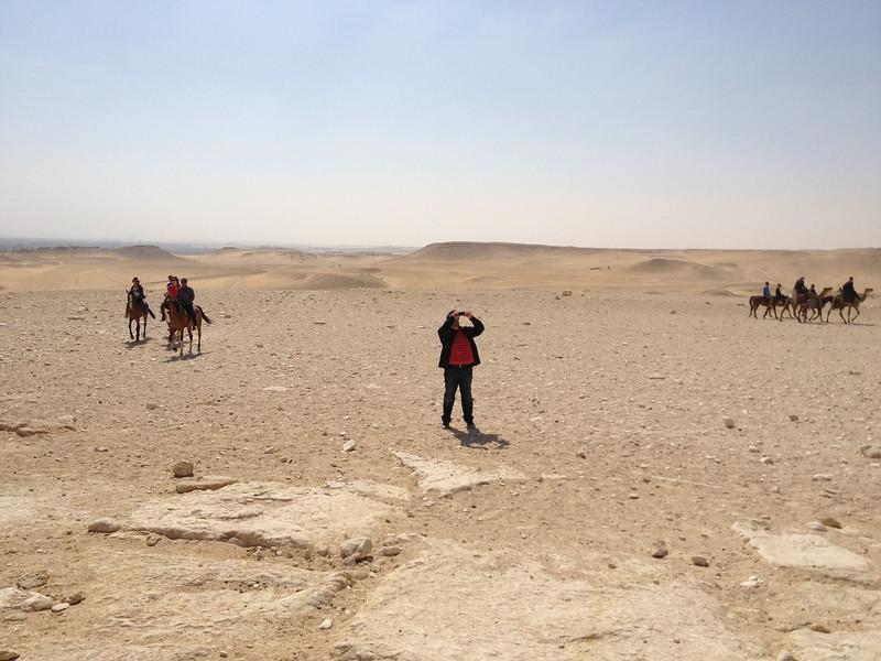 Giza Panorama with Johann