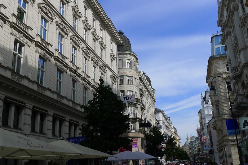 Wiener Innenstadt am 22. August 2013.