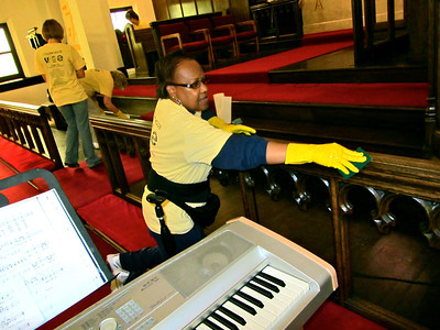 CitySERVE 2013  - Location: Calvary Lutheran Church.    500+ volunteers launched from Lutheran West High School to serve at 40 Cleveland area shelters, urban churches, schools, and social agencies.