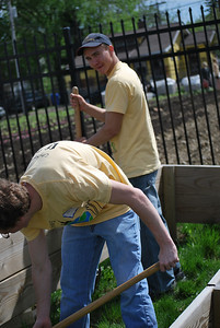 CitySERVE 2013  - Location: Rising Harvest    500+ volunteers launched from Lutheran West High School to serve at 40 Cleveland area shelters, urban churches, schools, and social agencies.