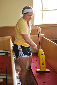 CitySERVE 2013 - Location: Westtown and Westpark Christian Reformed    500+ volunteers launched from Lutheran West High School to serve at 40 Cleveland area shelters, urban churches, schools, and social agencies.     CitySERVE is a partnership between Building Hope in the City and Lutheran West.
