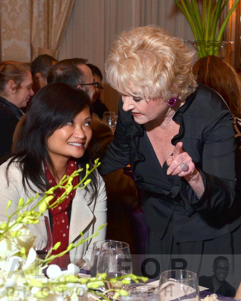 Lee Ducat (Founder & President-NDRI) talks with Rosemarie Filart
