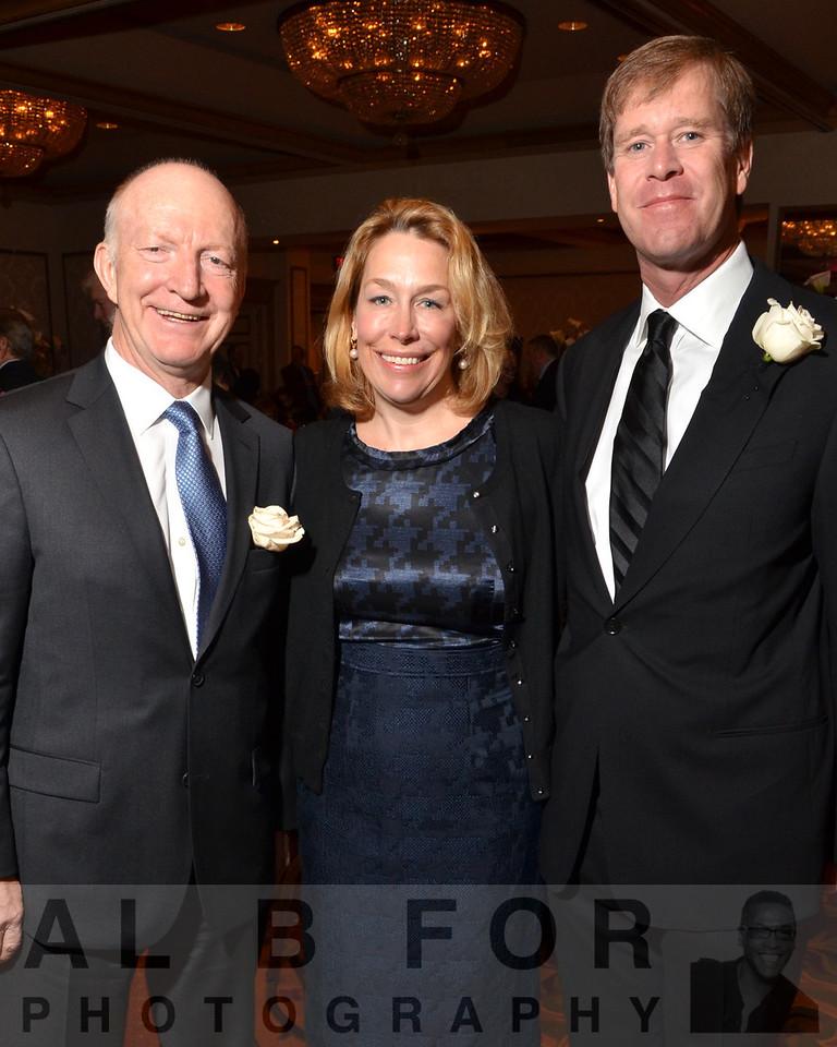 Meehard Herlyn(DVM, D.Sc, Chair, NDRI), Marci Zimmerman with Michael White