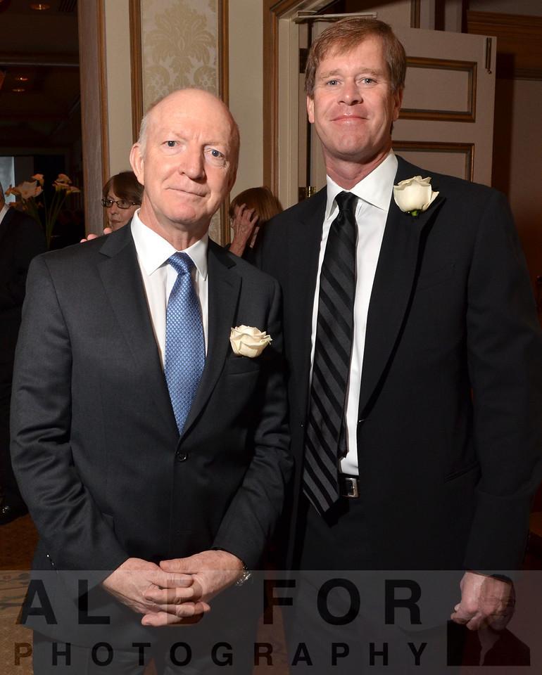 Meenhard Herlyn(Chair, NDRIBoard of Directors) & Michael White(Chair, JDRF)