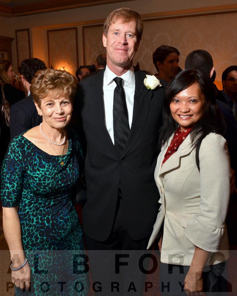 Yaffa Rubinstein, Michael White(Chair, JDRF & NDRI Board Member) & Rosemarie Filart