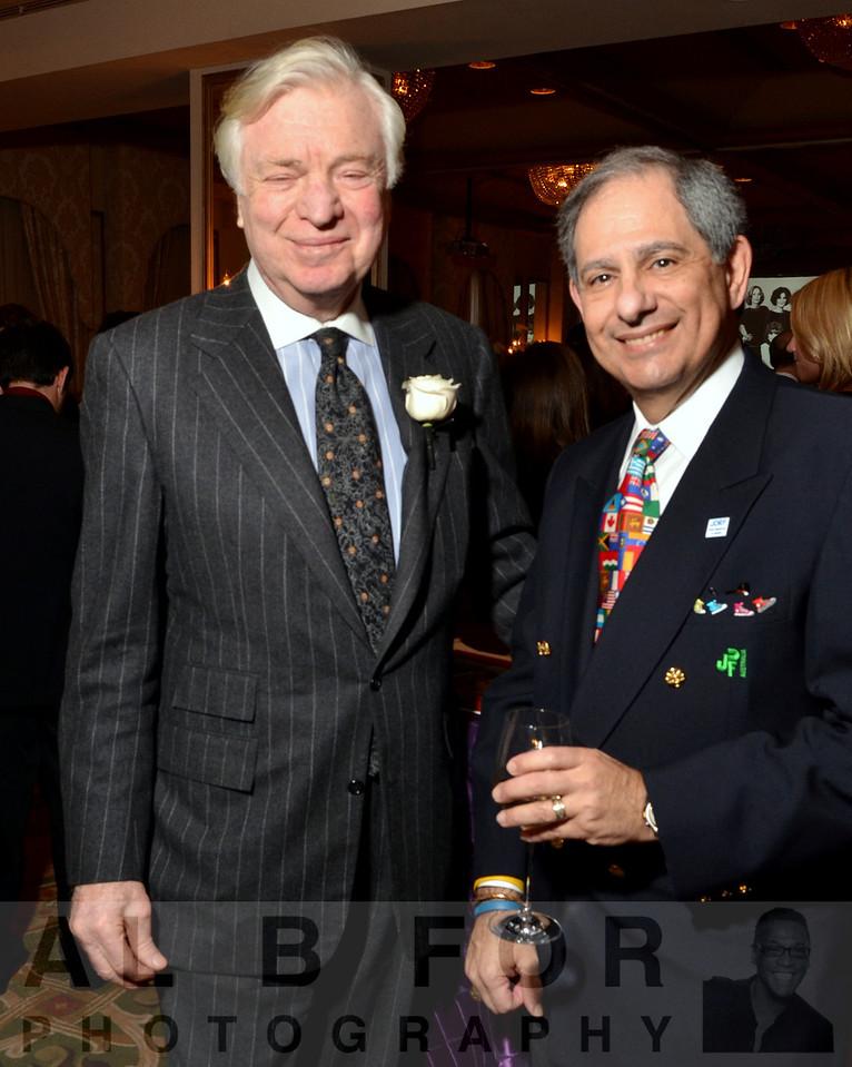 Alan Miller(CEO & Chairman of Universal Health Services, Inc) & David H. Glusman(MARCUM Group)