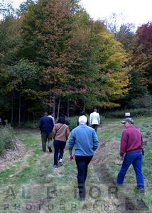Oct 7, 2015 The Dennis Farm Symposium, Marker unvailing