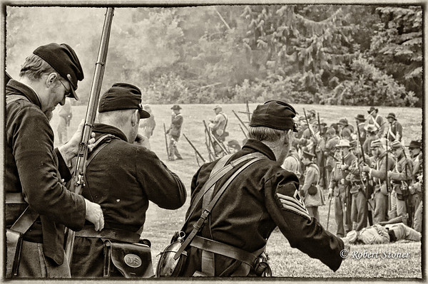 Civil_War_Reenactment_20090620_0753-1B&W