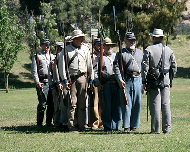 Civil War Reenactors~ Casa De Fruita ~ June 2007