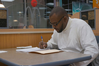 Kevon Chisolm '87 at McD's in Virginia.