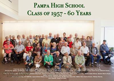 Class Photo 1957 5x7