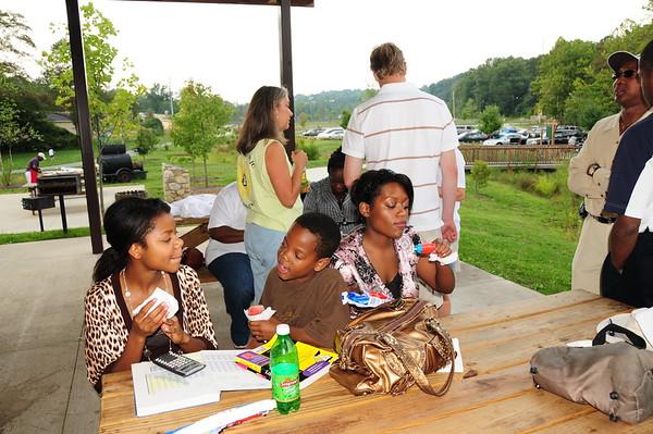 Asheville High School 30th Class Reunion Sunday Picnic 8/31/08