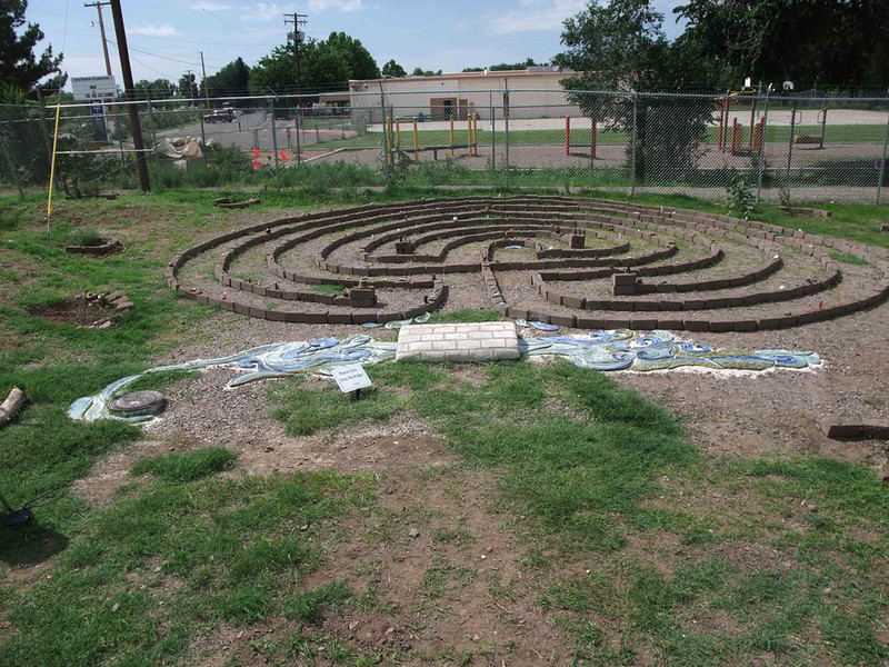 Whole labyrinth.