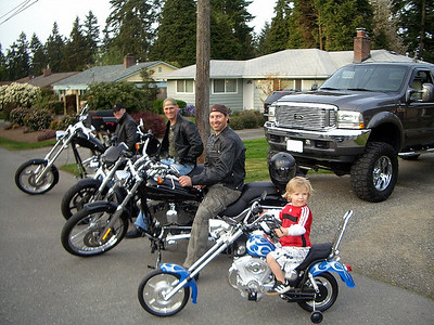 Cle Elum Choppers in Seattle: May 2008