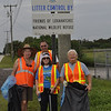 <b>Cleanup Day Volunteers - Linda Lee Phillips, Roy Truelove, Helene Kohrn, Peggy Tiller</b> September 20, 2014 <i>- Tony Lang</i>