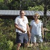 <b>Cleanup Day Volunteers Roy Truelove and Linda Lee Phillips</b> April 18, 2015 <i>- Anthony Lang</i>