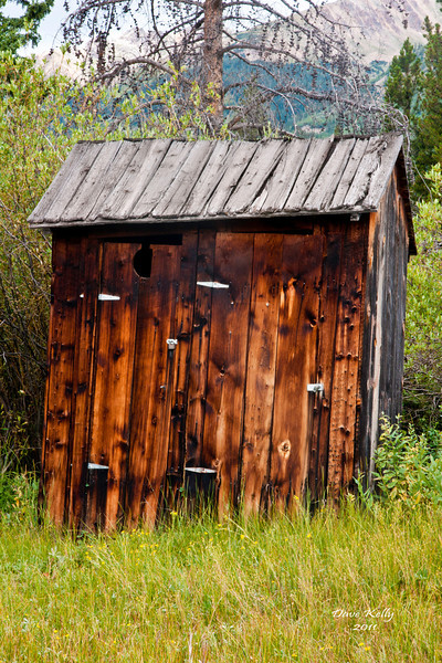 His & Her's Outhouse