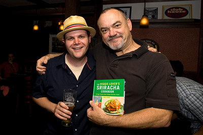 The Veggie-Lovers Sriracha Cookbook Release Party at Chloe's