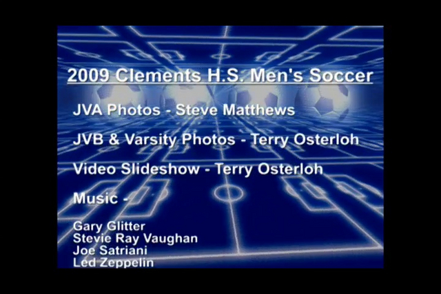 VIDEO: 2009 CHS SOCCER SLIDE SHOW PREVIEW