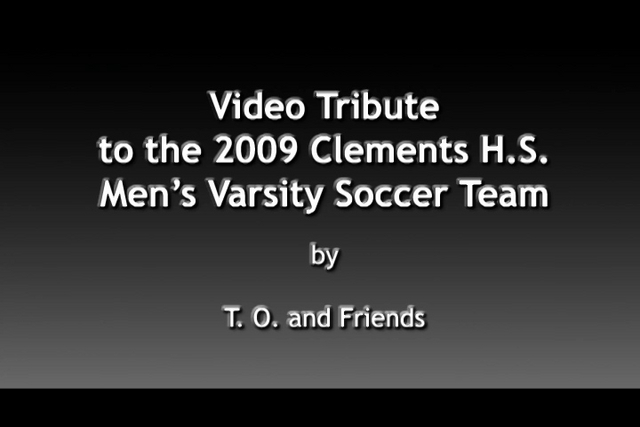 VIDEO: 2009 CHS SOCCER TRIBUTE PREVIEW