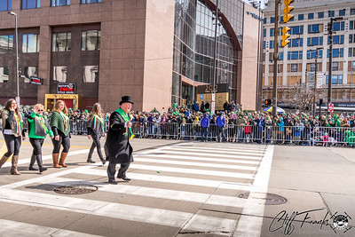 Cleveland's 2019 St. Patrick's Day Parade