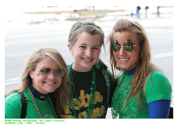2008 Cleveland Saint Patrick's Day Parade - Spectators