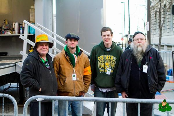 2014 Cleveland Saint Patrick's Day Parade - Spectators
