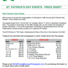 2015 Parade Price Sheet