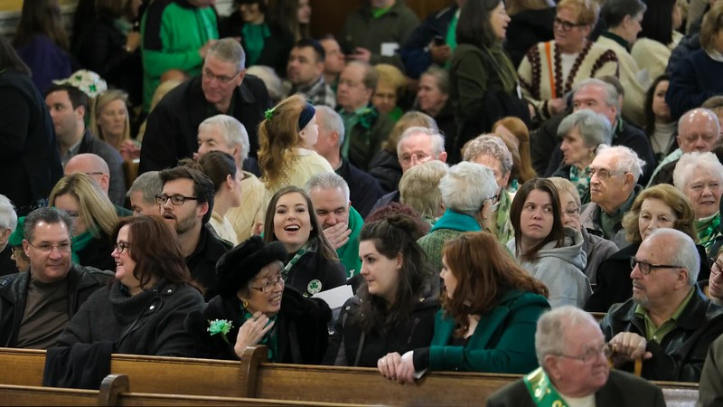 2017 Saint Patrick's Day Mass @ Saint Colman's