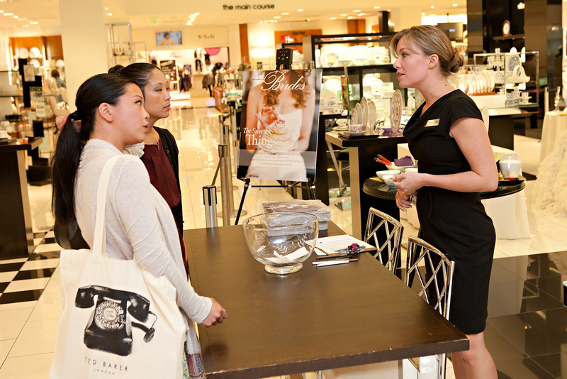 2011.09.21 Bloomingdales Wedding Registry Event San Francisco