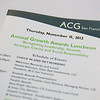 2012.11.15 ACG Growth Awards Lunch City Club