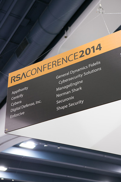 2014.02.26 SHAPE Security RSA Conference Booth