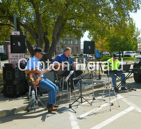 The Ron Tegeler Jazz Experience plays for the crowd  at the September Showcase on Saturday at the Clinton Public Library's main branch. • Katie Dahlstrom/Clinton Herald