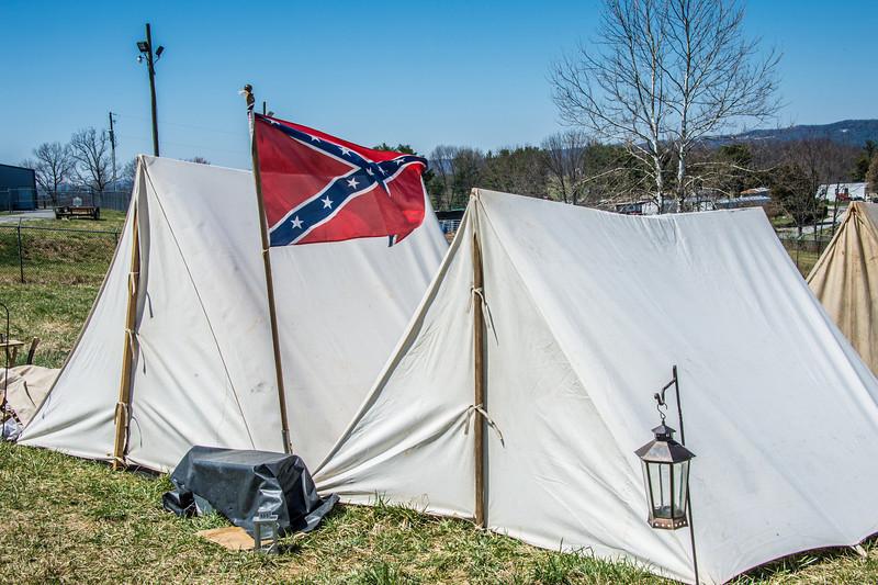 Cloyd Mountain Battle Reenactment