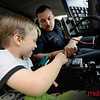 Officers Rivera trains a future cadet