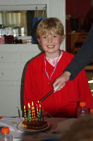 Cole's Bday Party/Street Hockey 2010