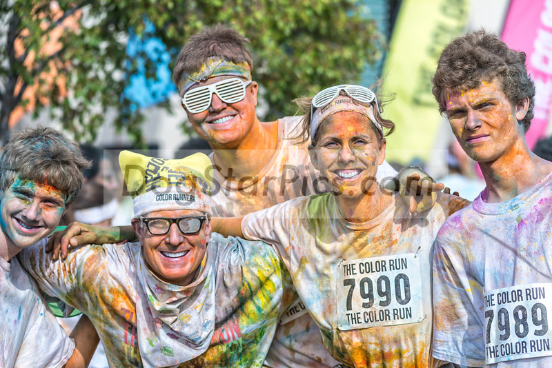 Color Run 5k run in downtown Houston, TX. Nov. 12, 2012. Click BUY to purchase pictures or download images.