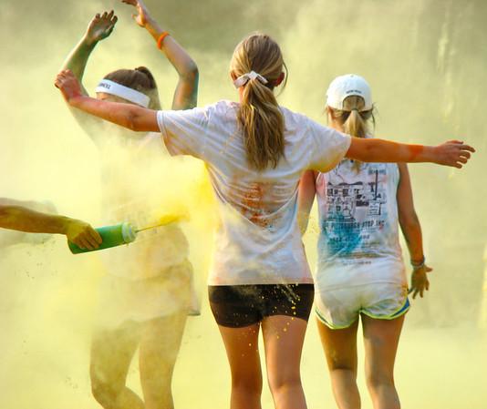Color Run in Philadelphia 2012