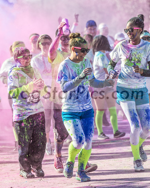Color Vibe 5k Run on 2-16-13. The race was at the Galveston County Fair Grounds near Houston. Click the BUY button to purchase prints or download images.