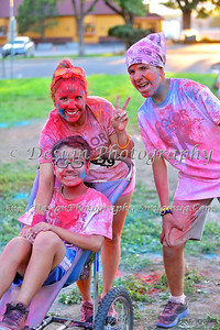 Color in Motion 5K, Monument Valley Park, Colorado Springs, Colorado