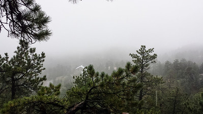 Fog Outside of Boulder
