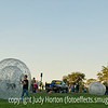 Some folks got inside the big balls at the Colorado Balloon Classic 2010.